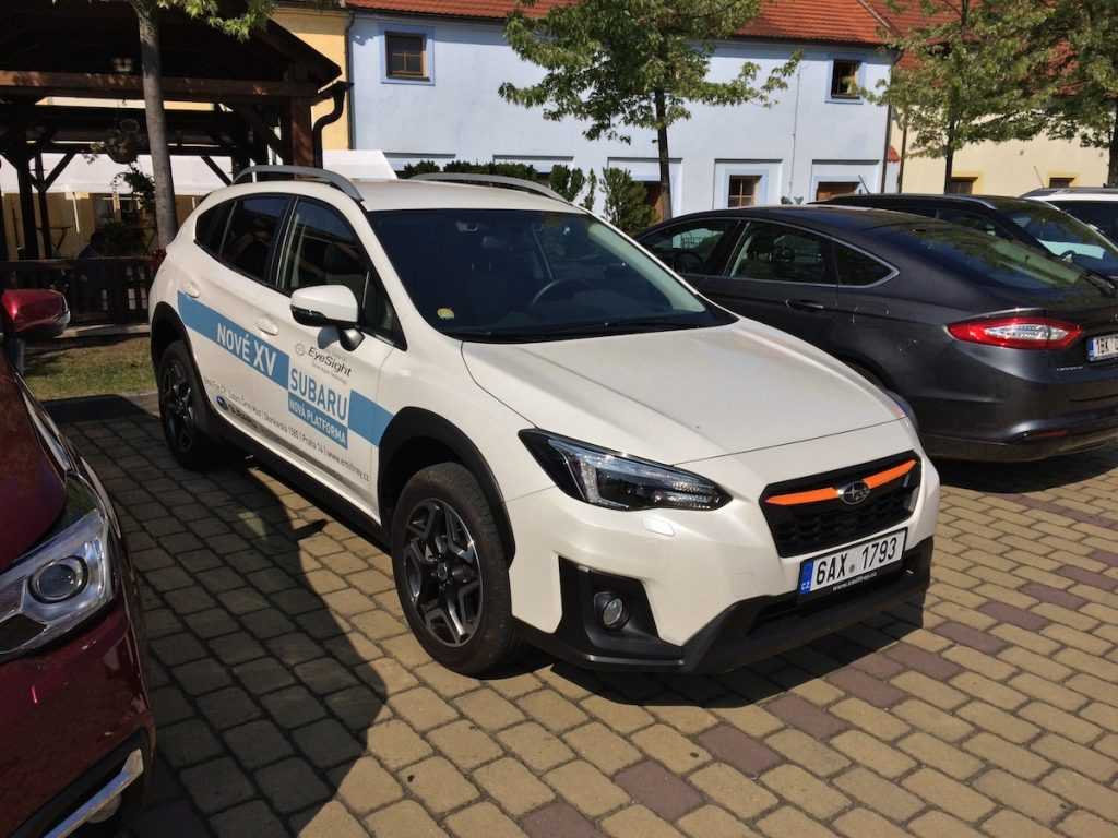 Subaru XV 2.0i EyeSight 115 kW CVT