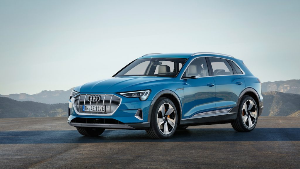 Audi e-tron - elektromobil