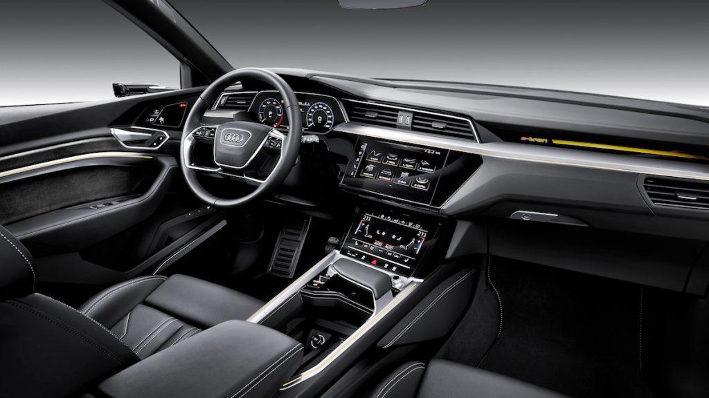 Audi e-tron - interiér