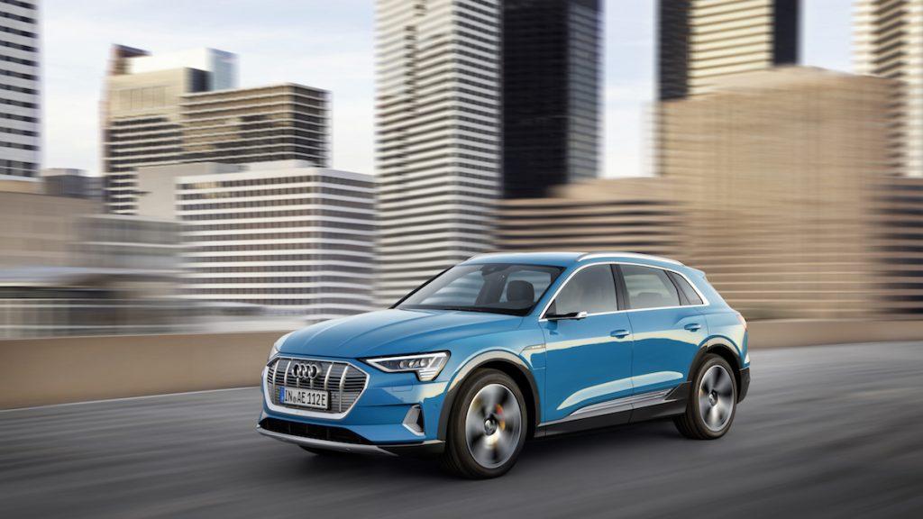 Audi e-tron - jede