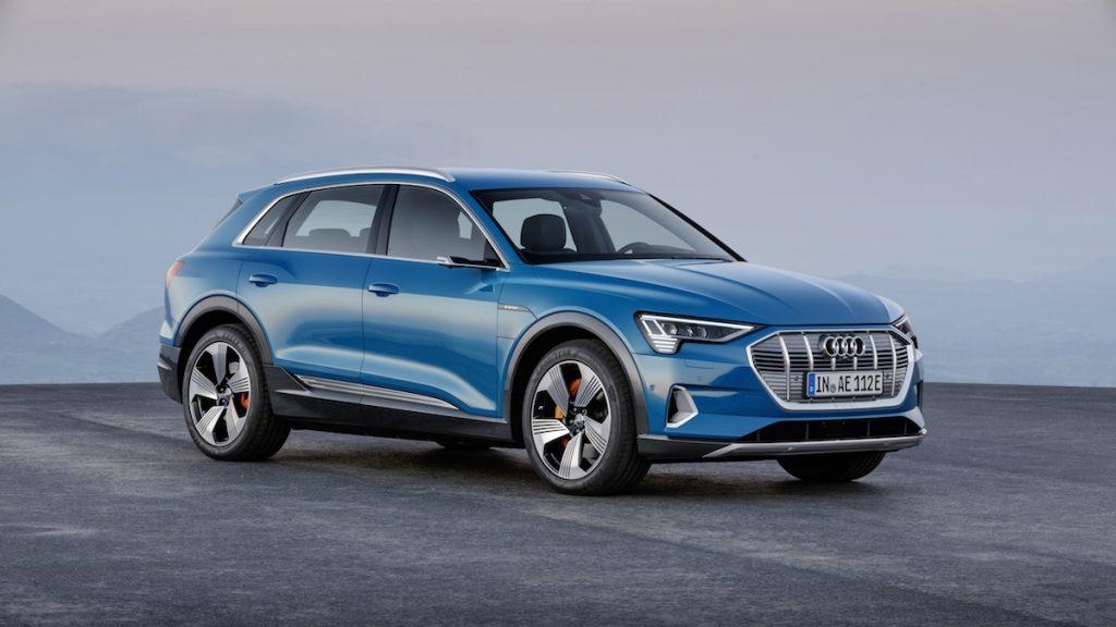 Audi e-tron - zepředu