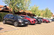 Benzínová SUV různých velikostí do města – spotřeba