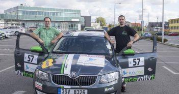 #EcoRallyTeamCZ ve složení Marek Tomíšek - Miroslav Tomíšek, Škoda Auto, Economy Run 2018, spotřeba