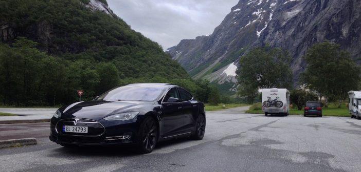 Registrační značka RZ (SPZ) EL - Tesla, Trolí Stezka, Norsko