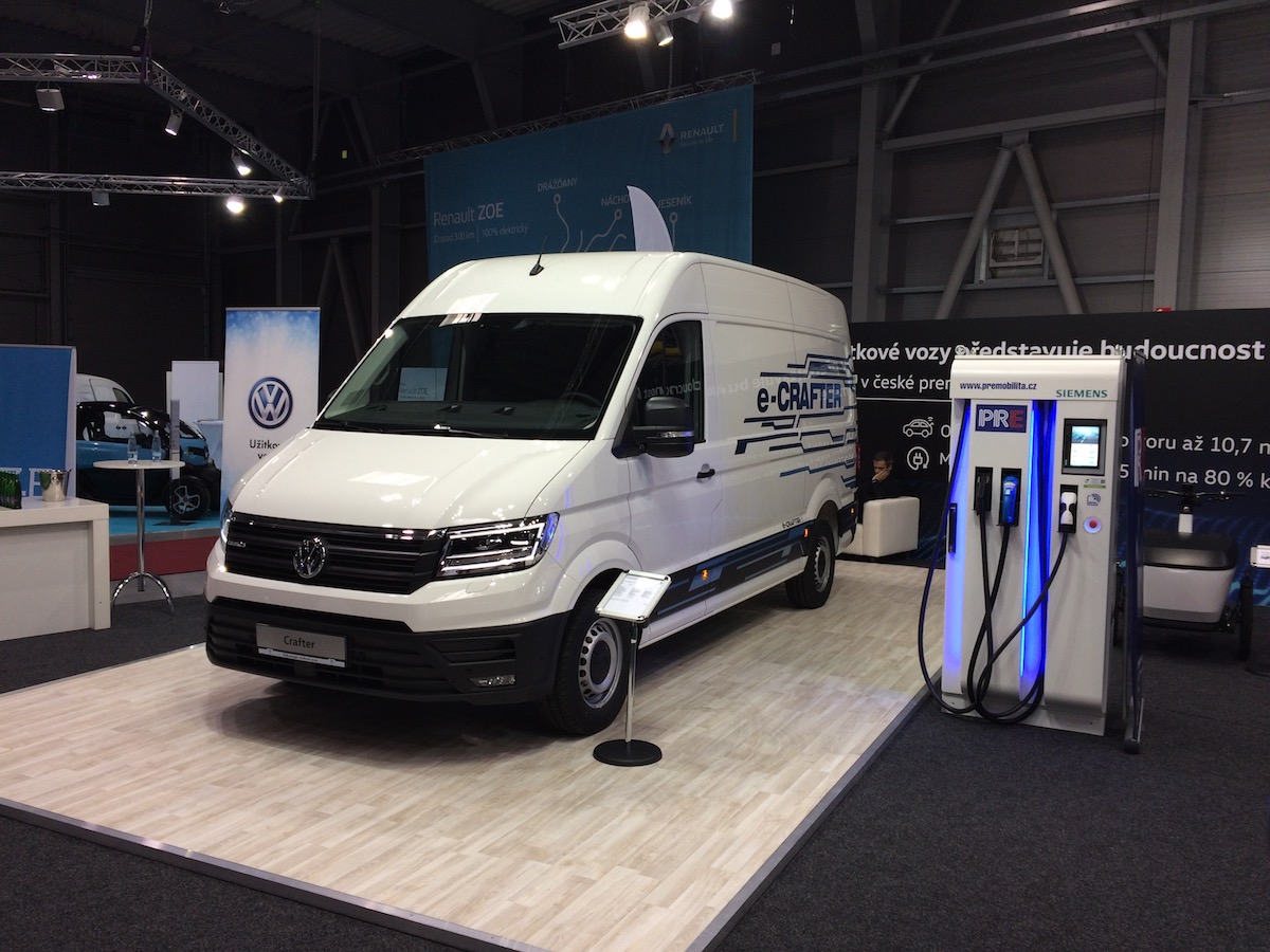 Volkswagen e-Crafter - e-Salon 2018