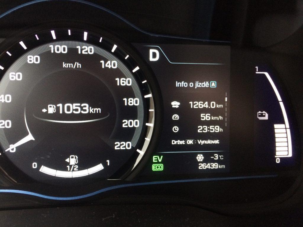 Hyundai Ioniq Hybrid - 1240 km