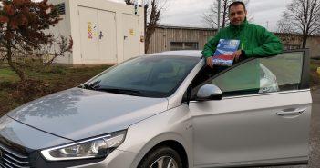Hyundai Ioniq Hybrid - Marek Tomíšek