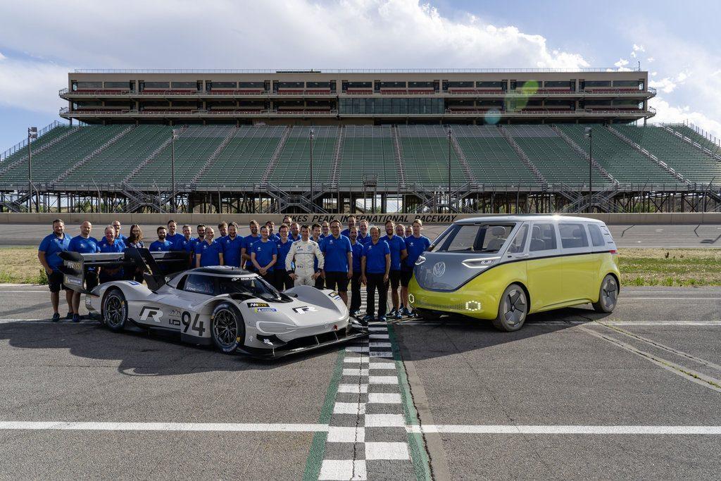 Faktor úspěchu VW ID. R Pikes Peak: týmová práce