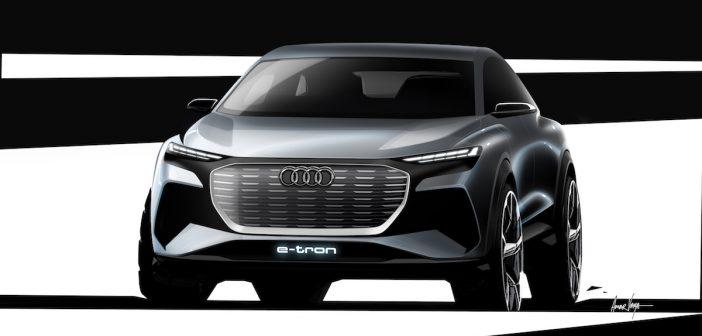 Audi v Ženevě ukáže studii kompaktního SUV Q4 e-tron