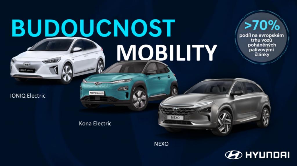 Hyundai Ioniq, Kona a Nexo - budoucnost mobility