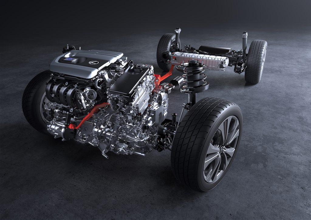 Lexus UX250h - hybridní pohon