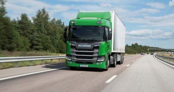 Tahač Scania G410 na LNG