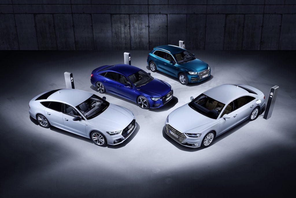Audi Q5, A6, A7 a A8, všechny plug-in hybrid