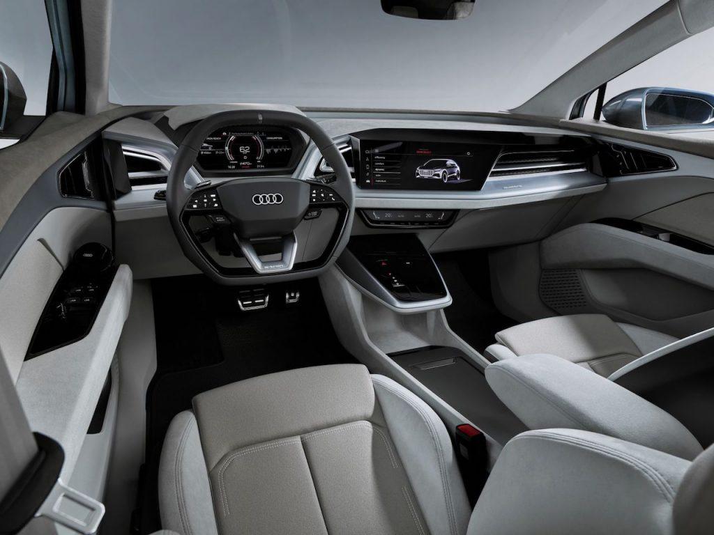 Audi Q4 e-tron concept - interiér
