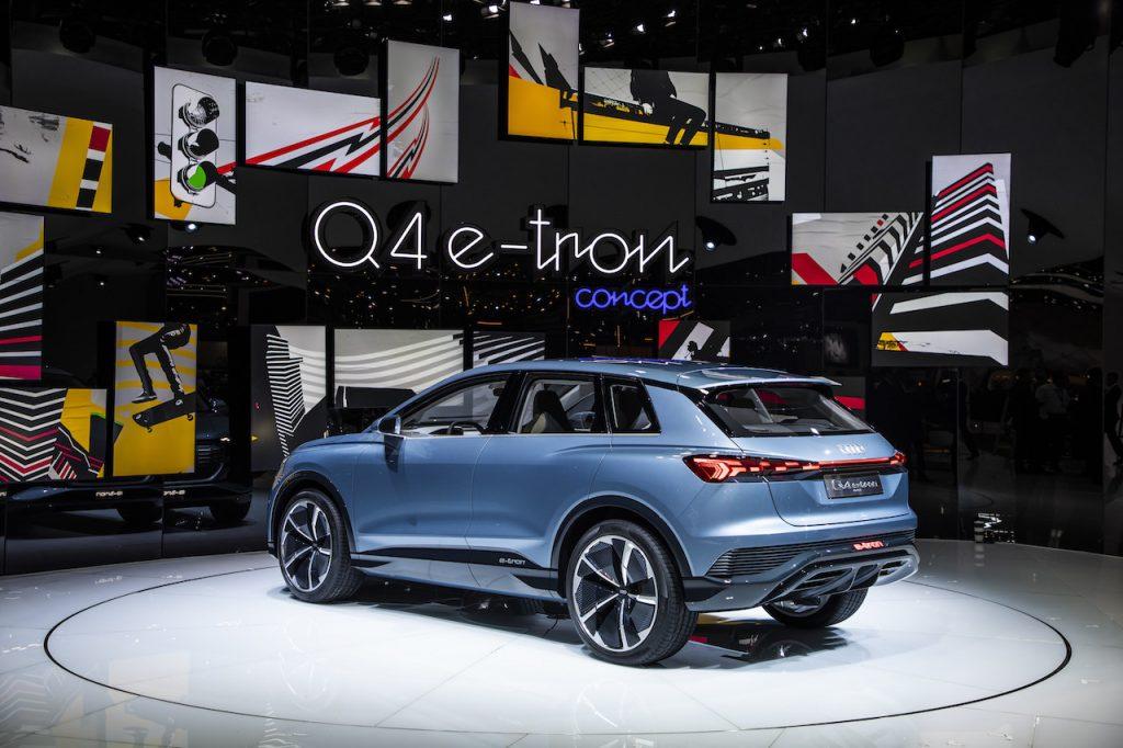 Audi Q4 e-tron concept - zezadu