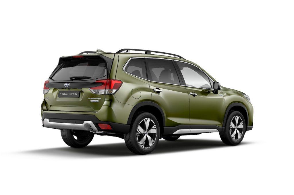 Subaru Forester e-Boxer - zezadu