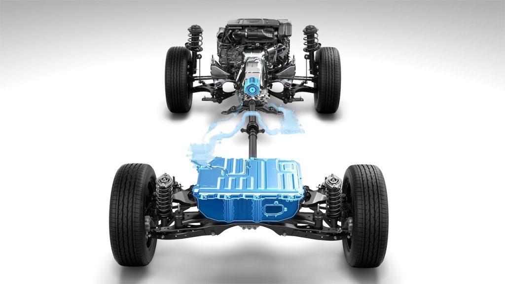 Subaru e-Boxer - podvozek