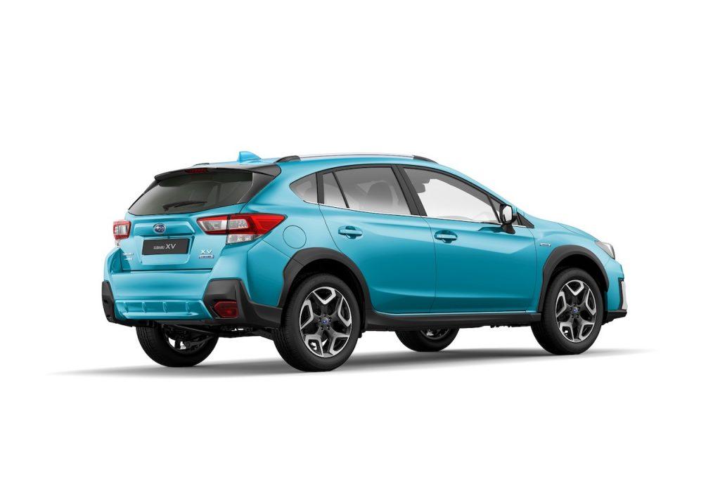 Subaru XV e-Boxer - zezadu