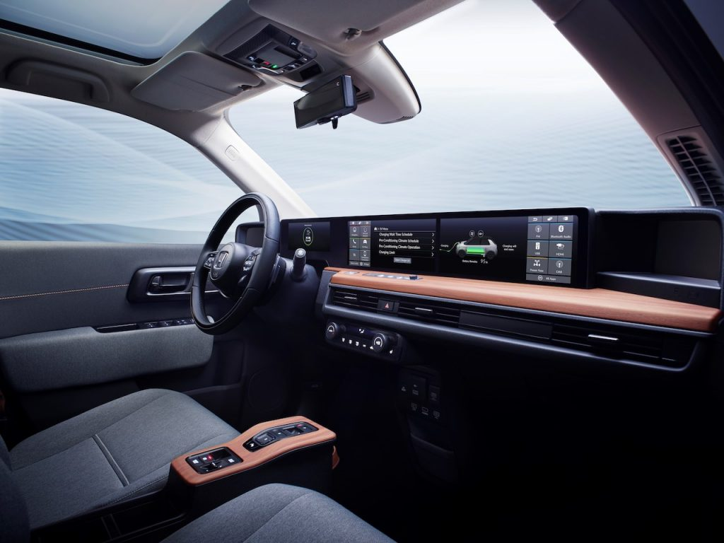 Honda e Prototype v Ženevě 2019 - interiér