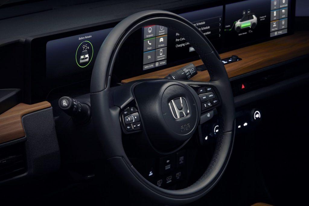 Honda e Prototype - Ženeva 2019 - volant