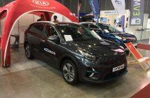 Kia e-Niro zepředu - AMPER 2019