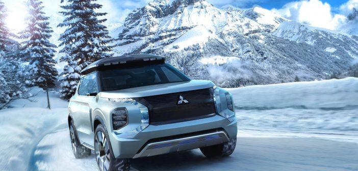 Ženeva 2019: Koncept Mitsubishi Engelberg Tourer, systém Dendo Drive House