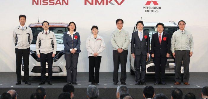 Představeni minivozů NMKV - aliance Nissan - Mitsubishi