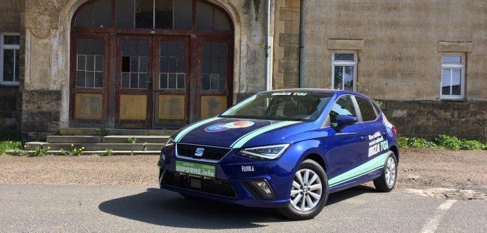 SEAT Ibiza 1,0TGI 66kW CNG - zepředu