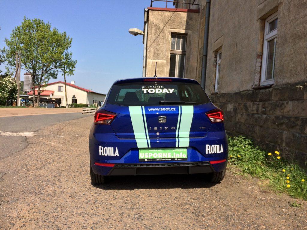 SEAT Ibiza 1,0TGI 66kW CNG - zezadu