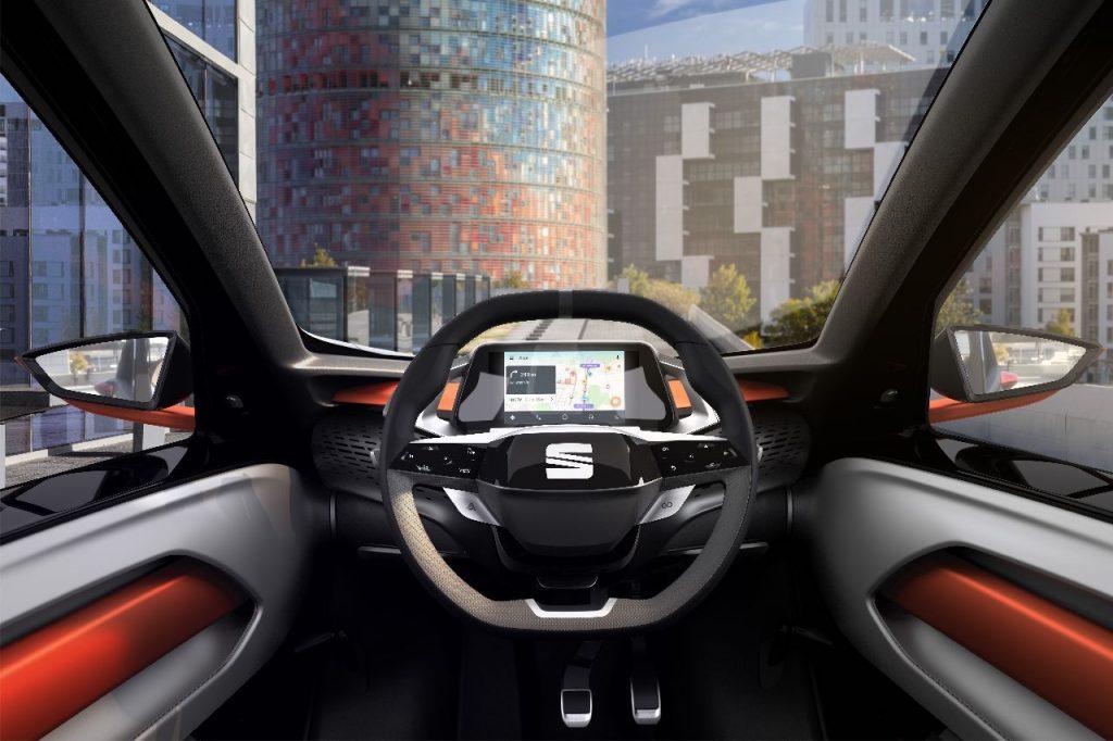 SEAT Minimó - zepředu - Ženeva 2019 - interiér