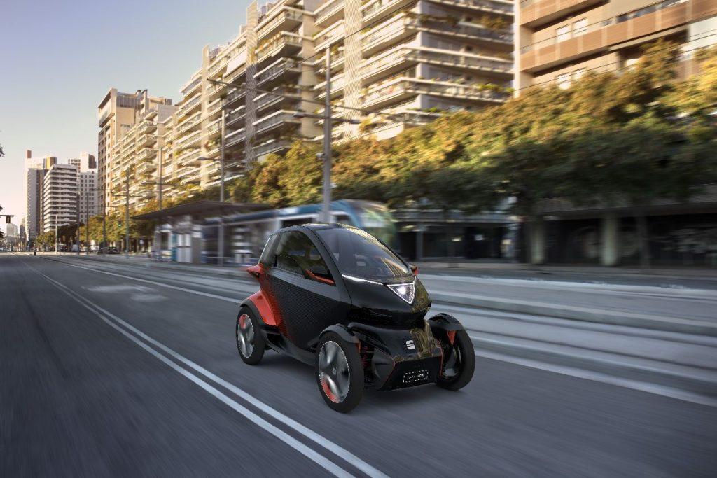 SEAT Minimó - zepředu - Ženeva 2019