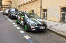 Škoda Octavia G-tec - Liftago taxi - Praha