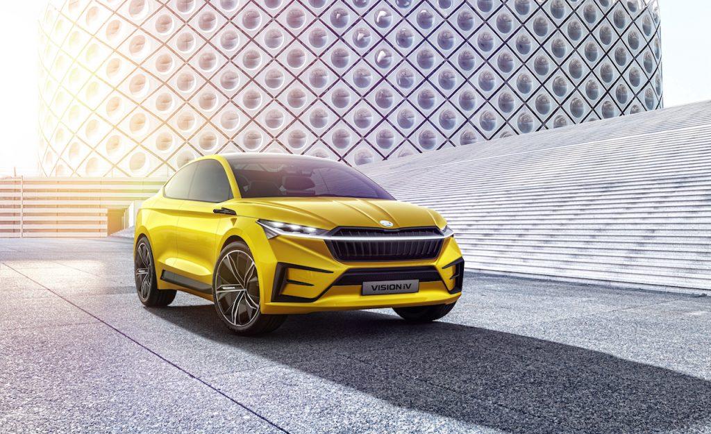 Elektromobil - studie Škoda Vision iV