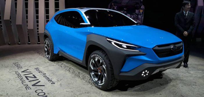 Ženeva 2019: Subaru VIZIV ADRENALINE Concept a motory e-Boxer v modelech XV a Forester