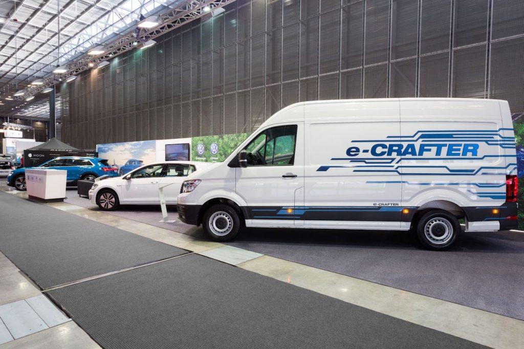 Volkswagen e-Crafter na Amper 2019