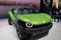 Volkswagen I.D.Buggy - zepředu - Ženeva 2019