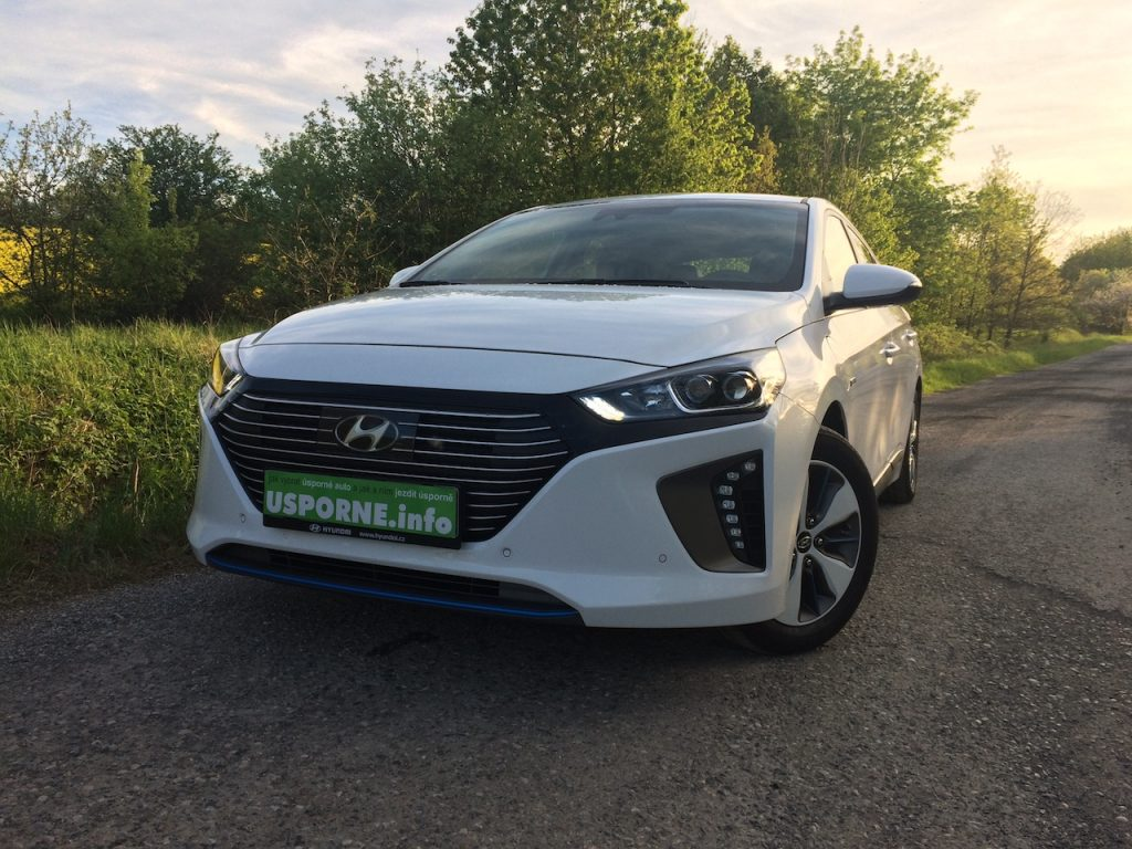 Hyundai Ioniq Plug-in Hybrid - zepředu