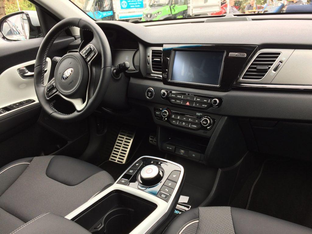 Elektromobil Kia e-Niro - interiér