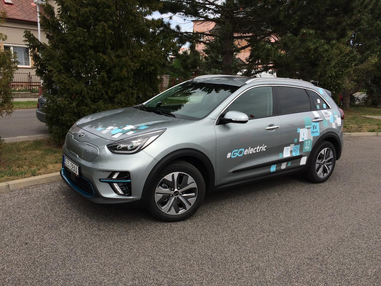 Elektromobil Kia e-Niro - zepředu
