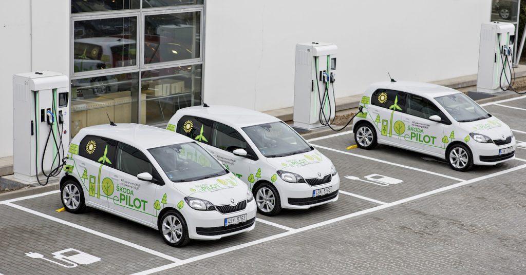 Elektrické vozy Škoda CitiGo e-Pilot, foto: Škoda Auto