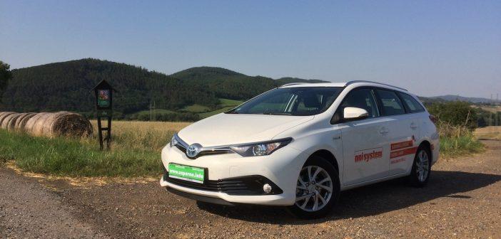 TEST: Toyota Auris Touring Sports Hybrid – skutečná spotřeba