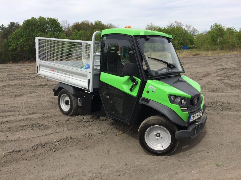 Užitkový elektromobil Alké ATX - nakladní vůz