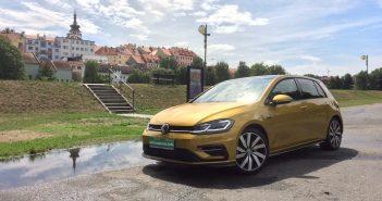 Volkswagen Golf 1,5 TSI - zepředu