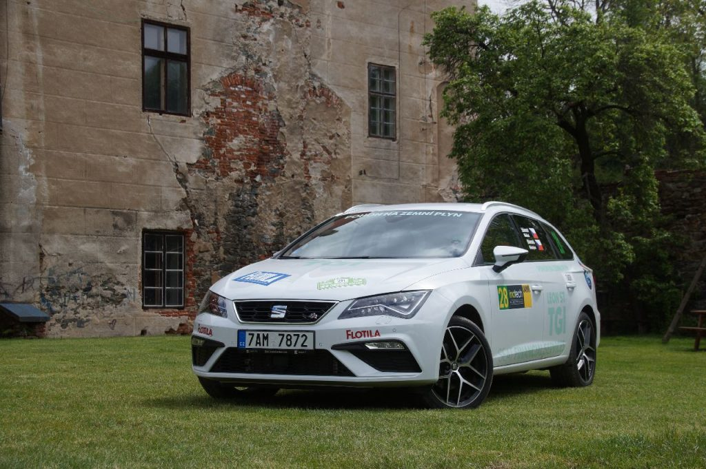 8. Czech New Energies Rallye SEAT Leon