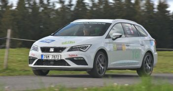 8. Czech New Energies Rallye SEAT Leon ST TGI Evo