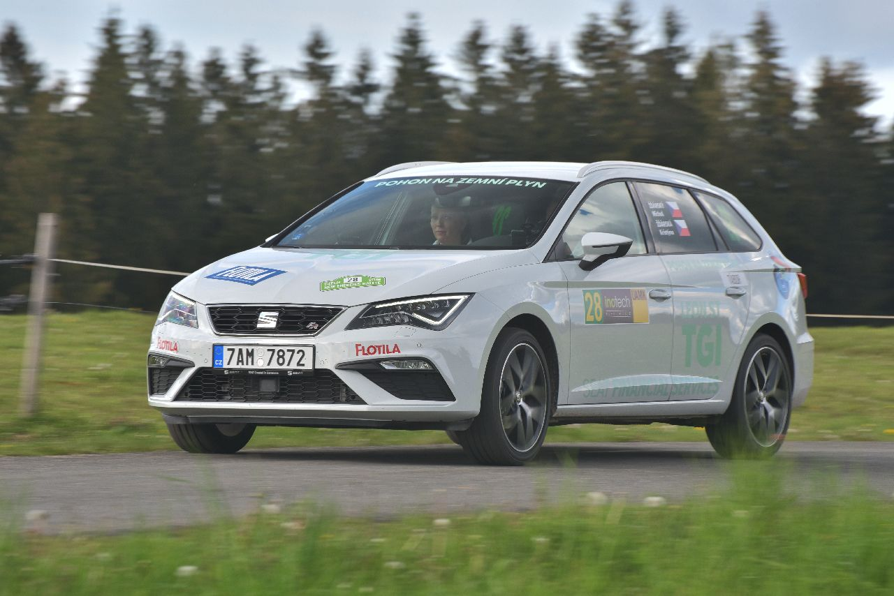 8. Czech New Energies Rallye SEAT Leon ST TGI Evo