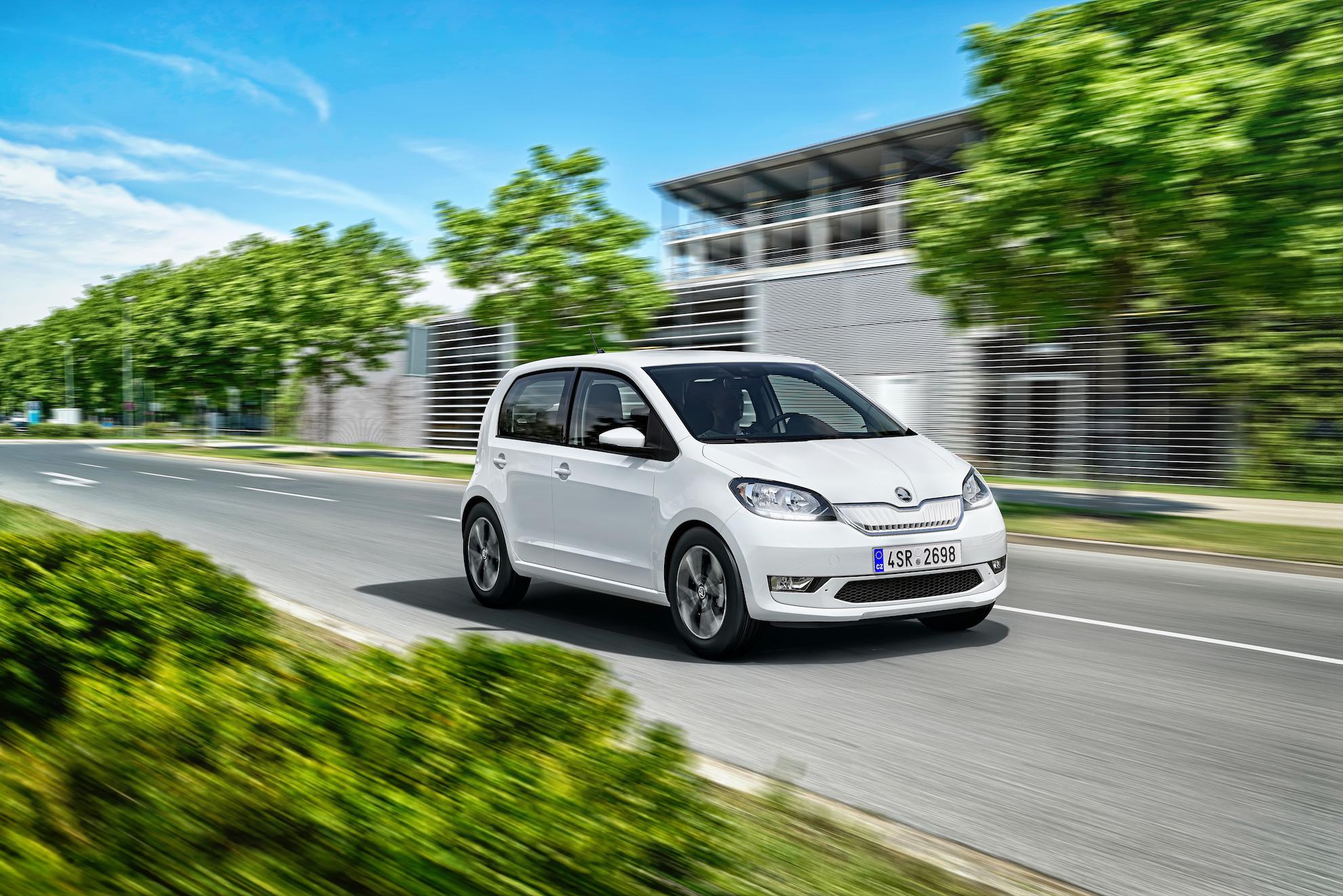 Škoda Citigo e iV - zepředu