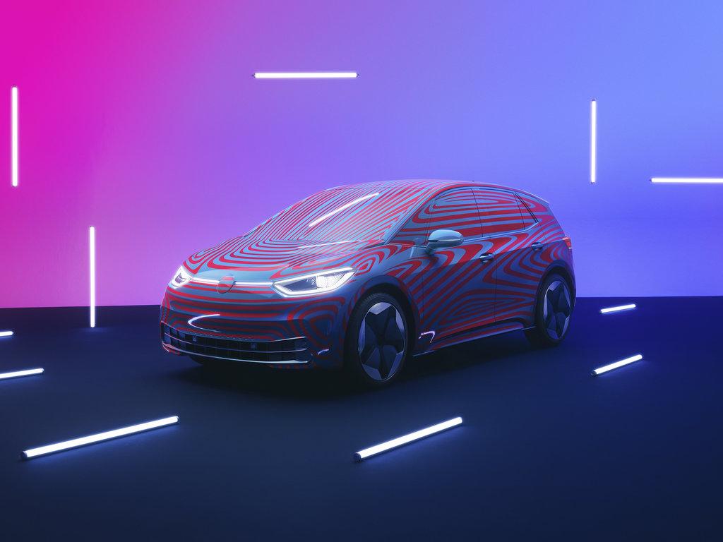Volkswagen ID.3 - náhled maskovaného auta