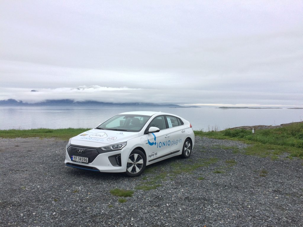 Bodø - Midnight Economy Run, Hyundai Ioniq Plugin Hybrid