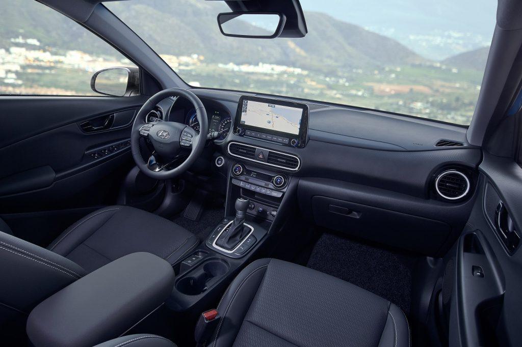 Hyundai Kona Hybrid - interiér